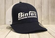 Binford Tools Hat Real Men Don't Need Instructions Tim Allen Home Improvement