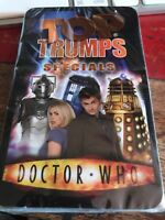 Top Trumps Specials Doctor Who 5036905007191 New And Sealed 😀 Included Case