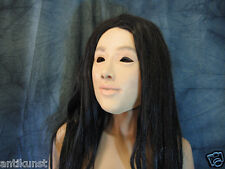Latex Mask LILLY - Female Rubber Face Mask Crossdresser Transgender Sissy TGirl