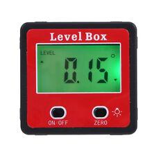 Magnetic Digital Inclinometer 360 Level Box Gauge Angle Meter Finder Protractor