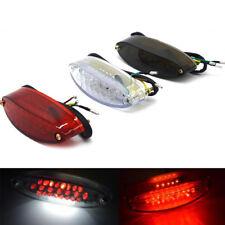 28 LED 3W 12V moto trasera luz LED bicicleta trasera freno de frenado luz roja