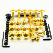 42320: PRO-BOLT Kit tornillos de carenado Pro-Bolt Aluminio oro R6 08+ FYA284G