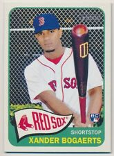 XANDER BOGAERTS H550 2014 Topps Heritage High Number SP RC RED SOX