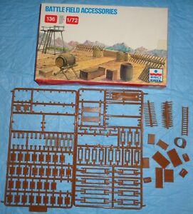 ESCI / ERTL # 216 1/72 Scale Battlefield Accessories / Diorama Acc. Model Kit