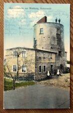 HOHENWALD (Vysoký) Böhmen - Haus und Aussichtsturm zur Wartburg - gel. 1926