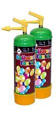 2x Ballongas Helium in Einwegflasche 0,11m³ 1 Liter Flasche