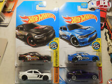 Hot Wheels 15 Charger SRT LOT 4 MOPAR SPEED GRAPHICS MUSCLE MANIA PURPLE BLACK