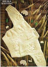 Baby jumper, in DK. knitting pattern in 2 sizes. boy / girl.