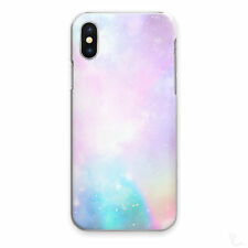 GALAXY STARS PHONE CASE PASTEL PINK BLUE HARD COVER FOR APPLE SAMSUNG HUAWEI