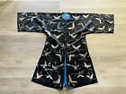 Fantastic Antique Chinese Silk Robe With Butterflies Qing Period
