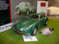 ASTON MARTIN DB4 GT ZAGATO 1961 verde chiaro in metallo 1/18 CMC M132 macchina