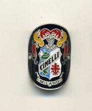Cinelli Milano Bicycles Metal Handlebar Stem Badge - Silver Type