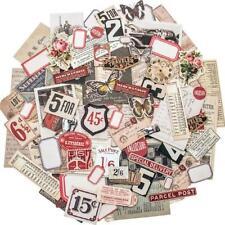 Tim Holtz Idea-Ology Ephemera Pack fragments minuscules Die-Cuts 111pcs