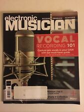 ELECTRONIC MUSICIAN JUNE 2021  VOCAL RECORDING 101 66 pages FREE SHIPPING