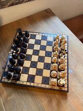 Schöner alter Schachkoffer mit ausergewöhnlichen Figuren ab 1 Euro