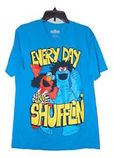ELMO COOKIE MONSTER SHUFFLIN T-SHIRT SIZE MEDIUM NWOT SESAME STREET