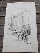 Originalzeichnung Wilhelm Eigener (1904-1982)