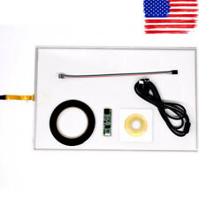 """19inch 4 Wire Resistive Touch Screen Panel USB Kit For 19"""" LCD Monitor 276x426m"""