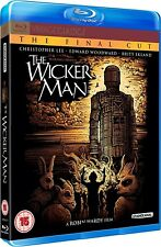 THE WICKER MAN (1973) BLU-RAY 40th Anniversary - 3 Disc Set - UK Region B not US
