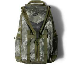 Nike SFS Recruit Printed Training Backpack Green Olive Camo Camouflage