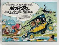 FRANQUIN. Gaston a Novotel. Album publicitaire 1980 - Très bel état