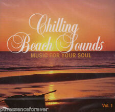 V/A - Chilling Beach Sounds: Music For Your Soul Vol 1 (UK 15 Tk CD Album) (Sld)