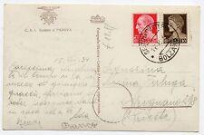 1931 LIBIA 5+20 CENTESIMI E 1 LIRA TRIPOLI 14/2 C/3590