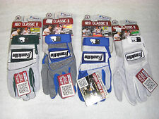 FRANKLIN NEO CLASSIC II BATTING GLOVES - VARIOUS SIZES AND COLORS