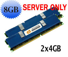 8GB 2X 4GB RAM MEMORY FOR INTEL CERTIFIED PC2-5300 DDR2 667 MHZ FBDIMM NEW!!!