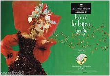 PUBLICITE ADVERTISING 075 2002  LE MANEGE A BIJOUX joaillier ( 2 pages)