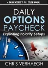 Daily Options Paycheck: Chris Verhaegh (Audio Book, 2013) Ships in 12 hours!!!