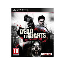Dead to Rights Retribution de Namco para la Sony PS3 usado completo