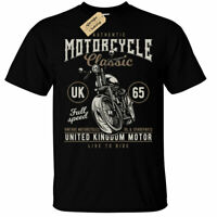 United Kingdom Motor T-Shirt Mens motorcycle uk classic british english Biker