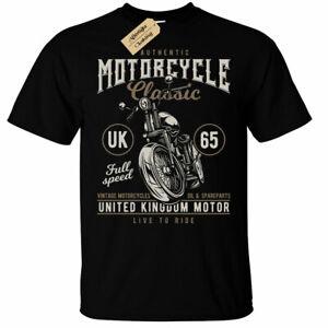 United Kingdom Motor T-Shirt Mens motorcycle uk classic british english Biker