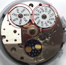 ETA 7751 date and day disc set , Datum Tag diske, disque date jour Original ETA.