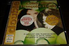 CELINE DION FRANCOISE HARDY INTROUVABLE DOUBLE CD GREC GRECE  PICTURE