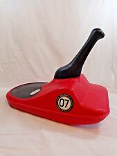 ZIPFY Freestyle Mini Luge Red 07 One Person Sled Compact Performance Lightweight