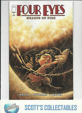 FOUR EYES HEARTS OF FIRE  #1   NM  NEW (BAGGED & BOARDED) FREEPOST