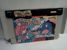 Super Mario World 2 Yoshi's Island - SNES / Super Nintendo - Authentic BOX ONLY