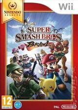Super Smash Bros Brawl Nintendo Select Wii