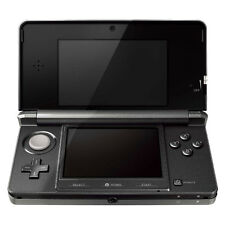 Nintendo 3DS Cosmo Black Handheld System - COMPLETE, TESTED