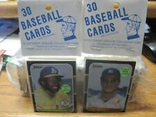 26 Baseball Team Packs of 30 Cards each 1980s Topps Donruss (780 cards total)