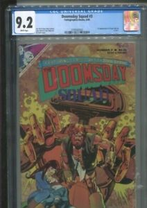 DOOMSDAY SQUAD 3 FIRST APPEARANCE OF USAGI YOJIMBO IN COLOR G KANE COVER CGC 9.2