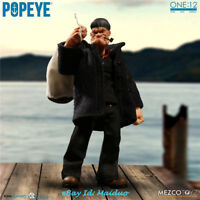 Mezco Toyz 1/12 Popeye the Sailor Action Figure Collectible 76470 New