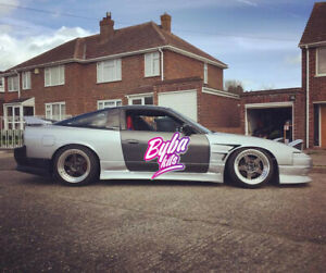 Front Wings +25mm to fit a Nissan 200sx S13