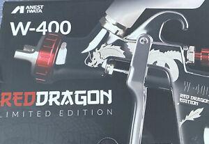 Iwata W-400 WBX Red Dragon Sonderedition 1,4 Düse
