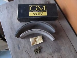 GM NOS Brake Lining SET 519993 1950 1952 1954 1956 1958?? Chevy buick Olds ?