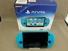 PlayStation PS Vita Wi-Fi Console Aqua Blue ( PCH-2000ZA23 ) Japan region free