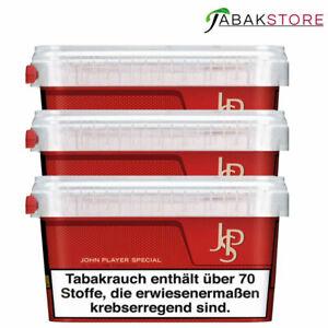 3x John Player Volumentabak   150g Tabak   JPS Red Box