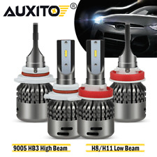 Combo 9005+H11 LED Headlight Bulbs For 2011-2018 Ram 5500 4500 3500 2500 1500